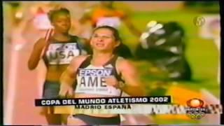 Ana Guevara gana dos Oros en Copa del Mundo Madrid 2002