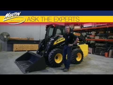 Ask The Experts: What Should I Know About New Holland Skid Steer Loader Control Functions?
