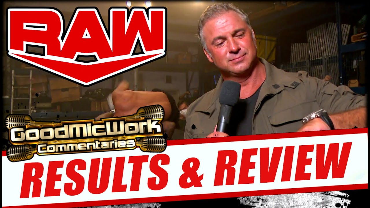 WWE Raw 8-3-2020 Full Show Review | Shane McMahon Introduces RAW UNDERGROUND