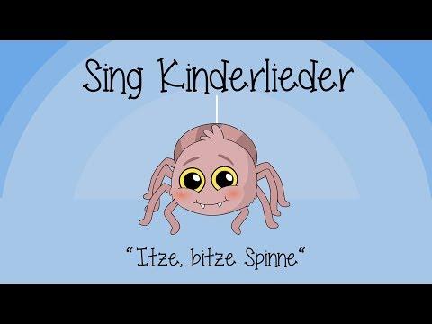 Itze Bitze Spinne - Kinderlieder zum Mitsingen | Sing Kinderlieder