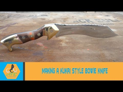 Knife Making - Bowie Knife