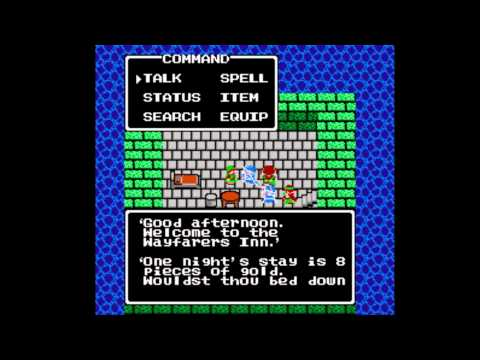 Dragon Warrior III [NES] Playthrough #04, Promontory Cave & Tower of Najima: the Thief's Key