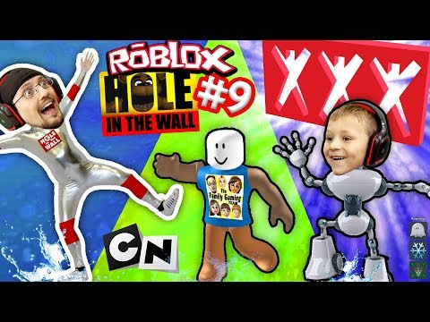 Thumbnail: ROBLOX #9 HOLE IN THE WALL! + Extreme Cartoon Network Monsters Version w/ FGTEEV Duddy Challenge