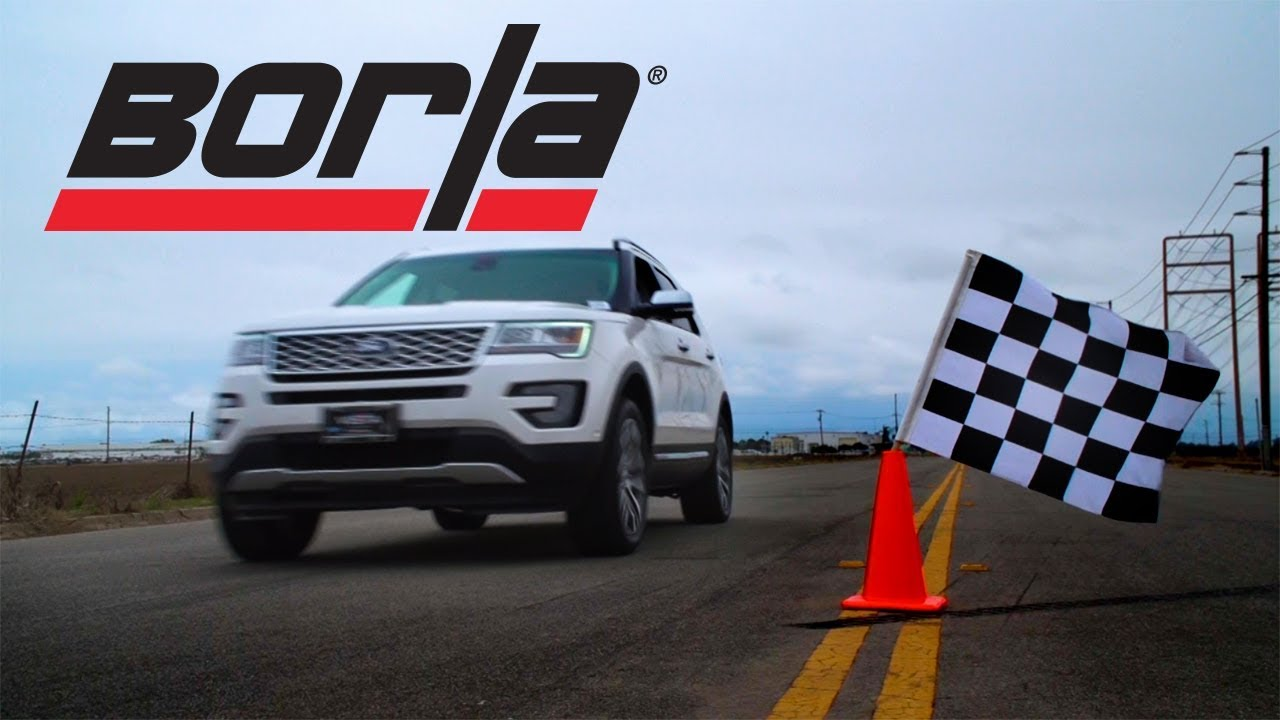 Borla Exhaust For 2016 2017 Ford Explorer Sport Ecoboost 3 5l