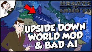 Hearts of Iron 4 hoi4 Defeating Germany and Italy as Yugoslavia w/ Upside Down Mod