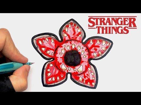 Tuto Dessin Demogorgon Stranger Thing Youtube