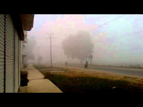 Weather In Sialkot On 21-10-2010