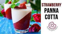 How to make Strawberry Panna Cotta | Panna Cotta Recipe | Italian Dessert | Summer Desserts