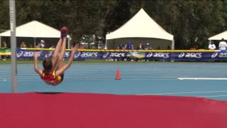 Australian Little Athletics Championships Event 2   U13 Girls High Jump