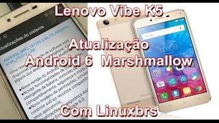 Vlog - Lenovo Vibe K5 - Falando da atualizacao Android 6 Marshmallow