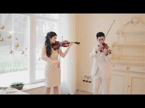 Song From A Secret Garden. Violin Duet ANticoNA. Cover