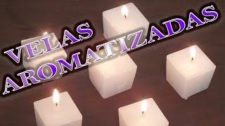 Como fazer velas decorativas aromatizadas
