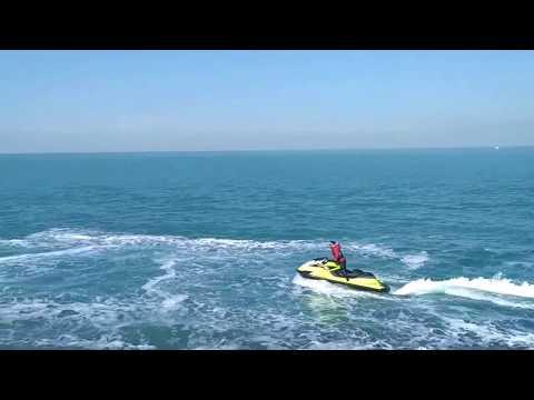Jet Ski ride : Kuwait