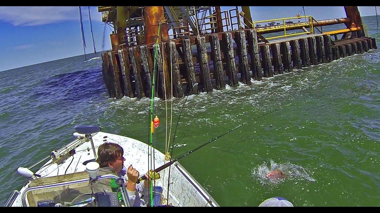 Venice la red snapper fishing youtube for Venice louisiana fishing