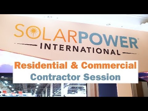Residential and commercial solar contractors talk about the