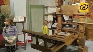 Печатный станок Скорины и виртуальный зал Национальной библиотеки, Беларусь