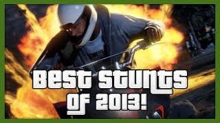 GTA 5: Best Stunts Of 2013! - Hazardous & Kwebbelkop