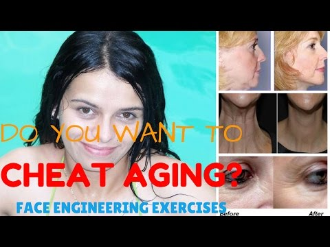 How to tone facial muscles   The Face Engineering Exercises System   Face firming exercises