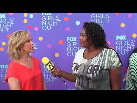 Heather Kadin Sleepy Hollow   Fox's Girls Night Out Red Carpet Interview   AfterBuzz TV