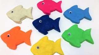Learn Colors | Learn Colors for Kids | Play Doh Fish Mold n Creative for Kids | Kids video Surprise