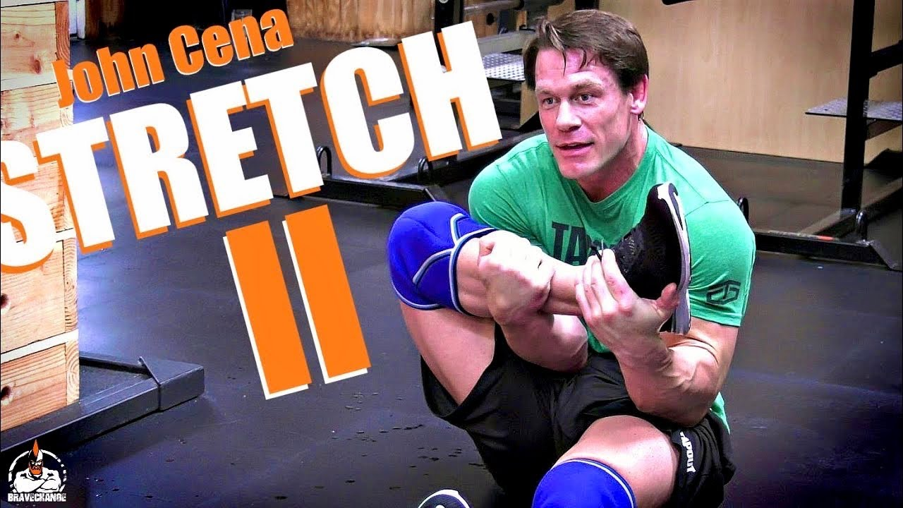 John Cena Stretch II (THE GROIN!)