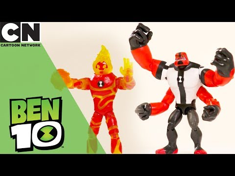 Ben 10 | Figurine Unboxing | Cartoon Network | Ad Feature