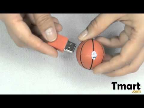7.95 4GB Basketball Shaped USB Flash Drive-C01621