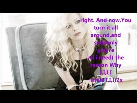 Avril Lavigne -Smile karaoke/instrumental lyrics