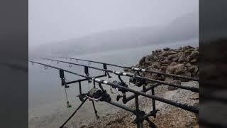 Karda balık avı