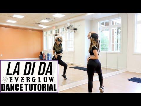 EVERGLOW (에버글로우) - LA DI DA - Lisa Rhee Dance Tutorial