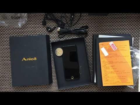Latest 2017 Anica A9+ Ultra-thin Dual SIM Bluetooth MP3 680mAh Remote Control Mini Card Phone