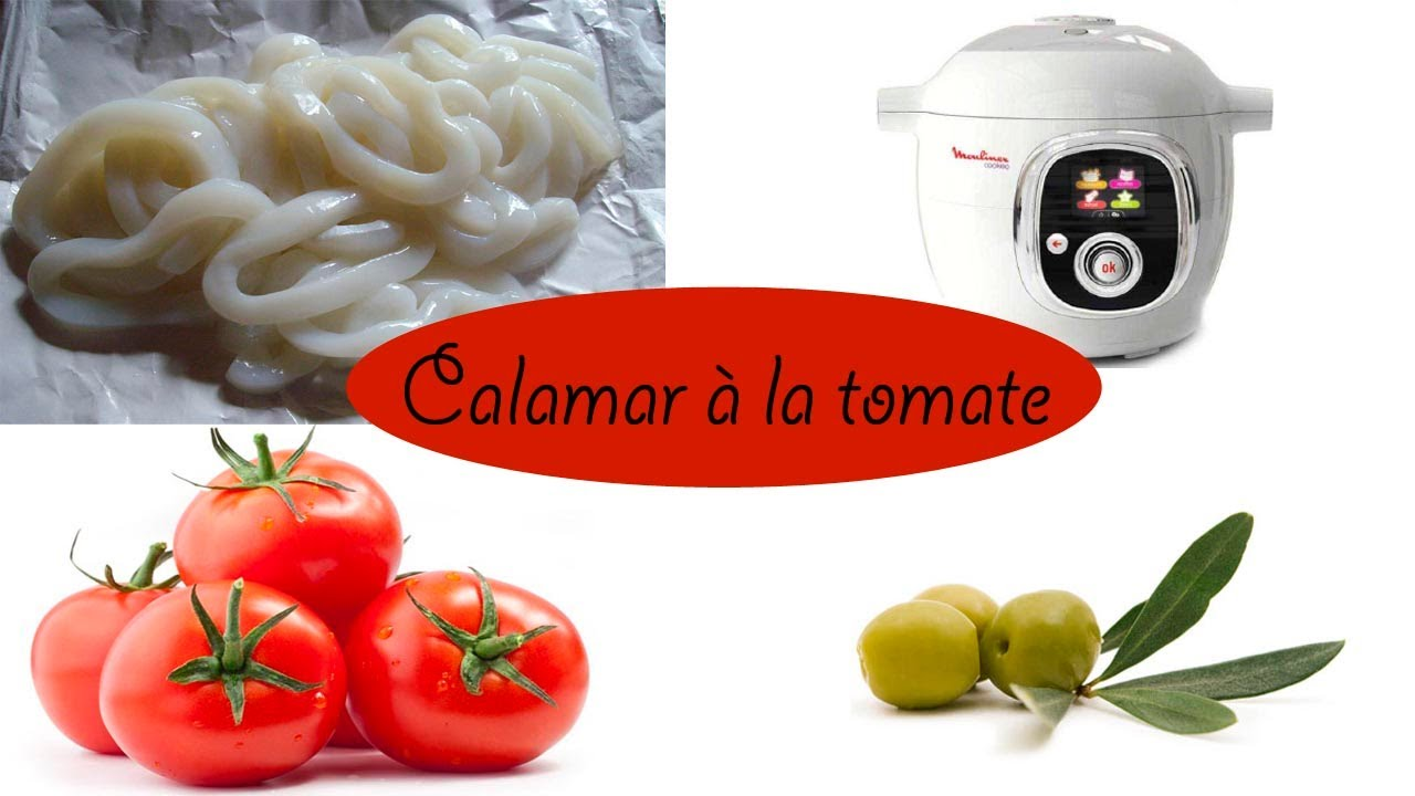 recette des calamars la tomate et au safran avec le. Black Bedroom Furniture Sets. Home Design Ideas