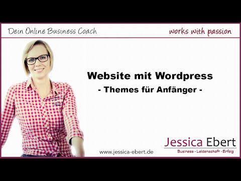 Website Mit Wordpress Erstellen - Schöne Themes Für Anfänger