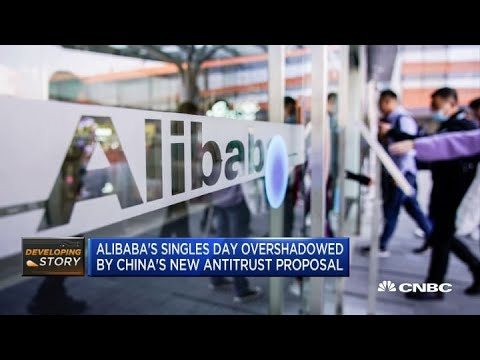 Alibaba's Singles Day overshadowed by China's new antitrust proposal