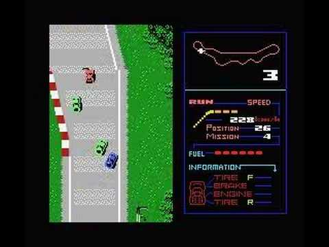 MSX - F1 Spirit - Stock Car Race Clear