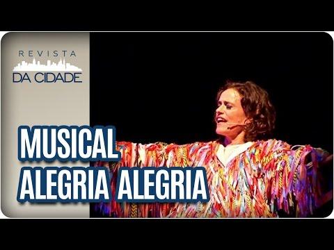 Musical Alegria Alegria com Zélia Duncan - Revista da Cidade (12/05/2017)
