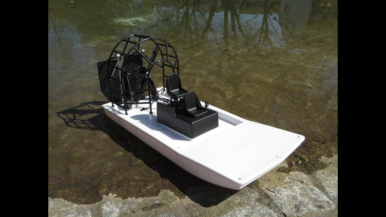 Maiden: HobbyKing Swamp Dawg Air Boat (ARR) (part 2) - YouTube
