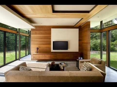 Ordinaire #Wood Ceiling Designs Ideas# Wooden False Ceiling Designs For Living Room U0026  Bedroom | Haseena Shaik