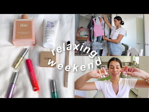 relaxing-weekend-*sephora-makeup-haul,-cleaning-out-closet*