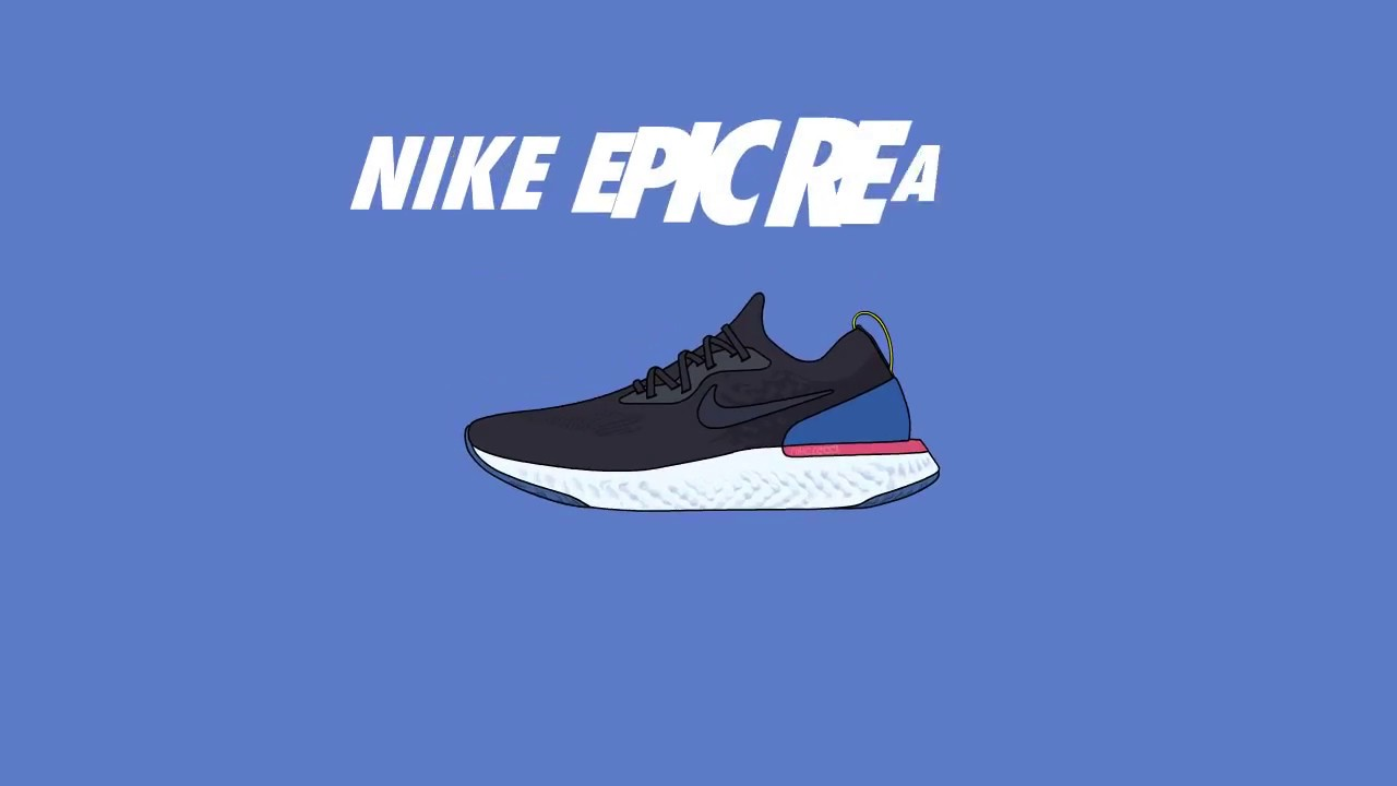 NIKE EPIC REACT FLYKNIT ANIMATION
