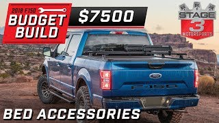 2018 Ford F150 Budget Build Outdoor Lifestyle Bed Accessories Tier 3  $7500