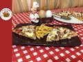 En pratik pizza tarifi (tavada)