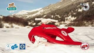 Gyermek bob Snow Speedy BIG kapaszkodókkal robuszt