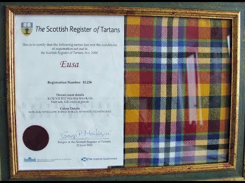 Registering A Tartan With The Scottish Government