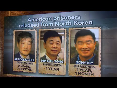 3 Americans Held In North Korea Freed