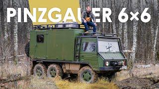 Самый крутой вездеход в мире? Pinzgauer 712 (тест и история)