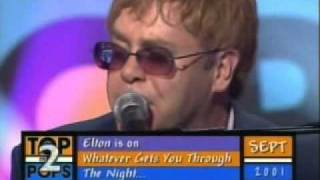 """Elton John """"I Want Love"""" TOTP2"""