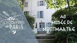 { vidéo } Les Croqueuses au Musée de Montmartre