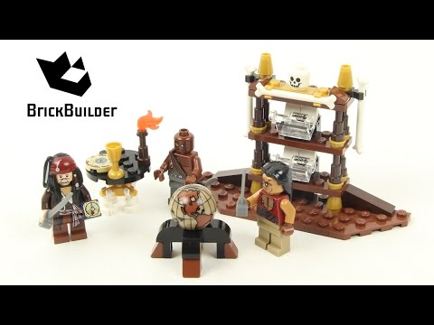 Lego Pirates 4191 Captain's Cabin - Lego Speed build