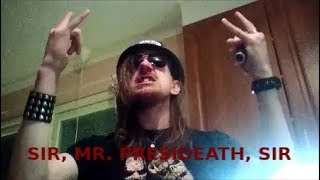 Sir, Mr. Presideath, Sir vocal cover - LORDI - Scare Force One